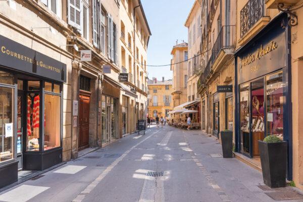 Centre historique d'Aix-en-Provence