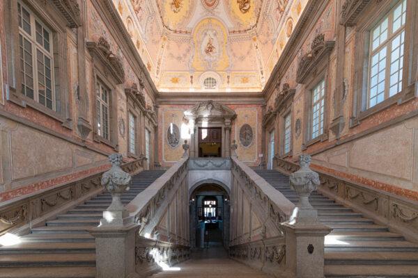 Escaliers du palais épiscopal