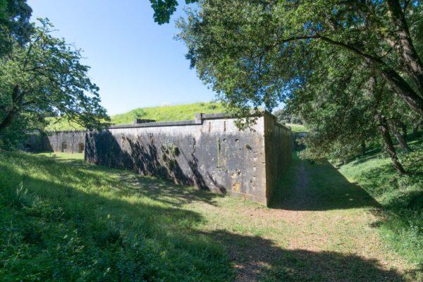 Fort Liédot sur l'île d'Aix