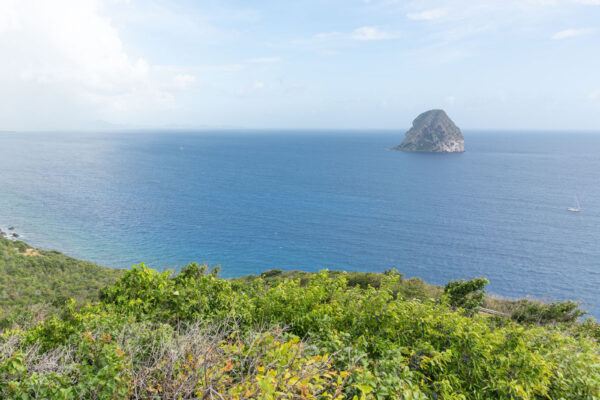 Panorama sur le rocher du Diamant
