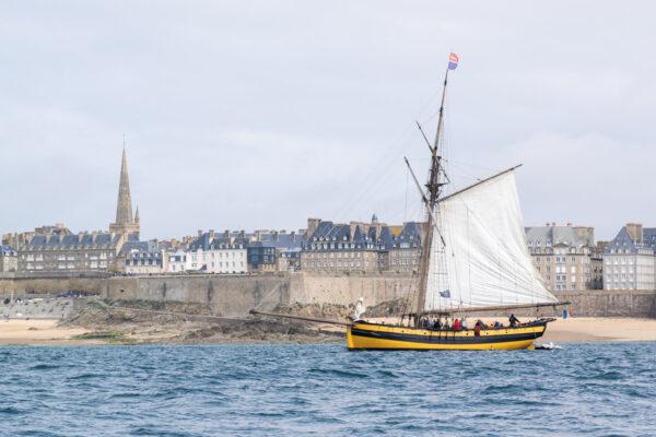 Saint-Malo surnommée la cité corsaire