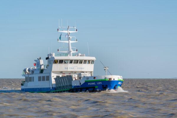 Traversée en bateau depuis Fouras