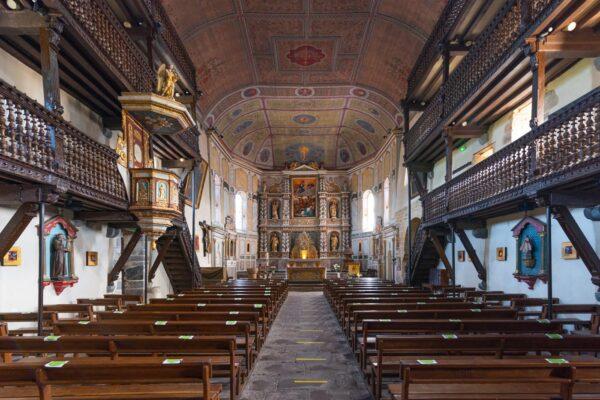 Eglise à Espelette