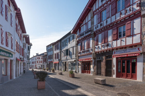 Espelette au Pays basque