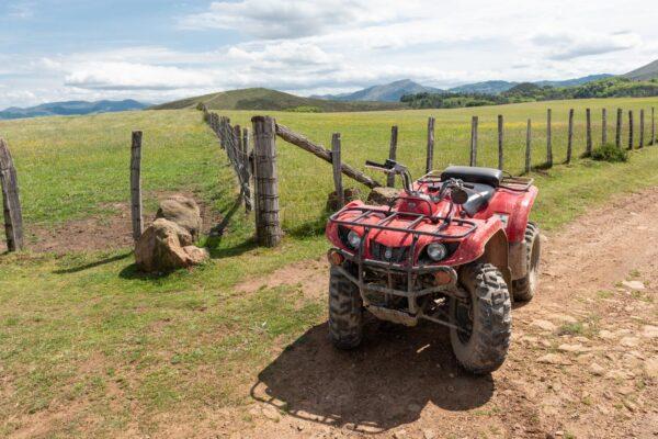 Faire du quad dans l'arrière-pays basque
