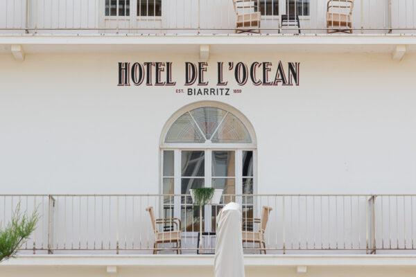 Hôtel de l'Océan à Biarritz