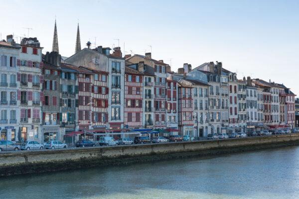 Quai de la Nive à Bayonne