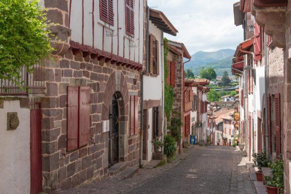 Rue de la Citadelle à Saint-Jean-Pied-de-Port