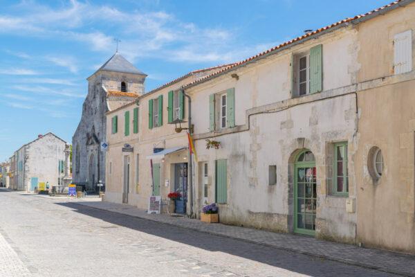 Ruelle de la cité fortifiée de Brouage
