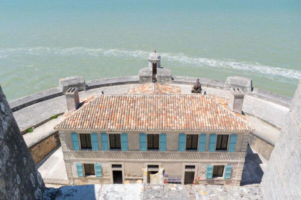 Vue sur le fort Louvois
