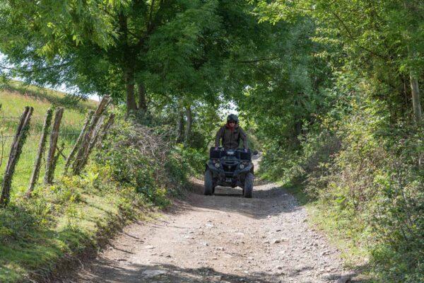 Balade en quad au Pays basque