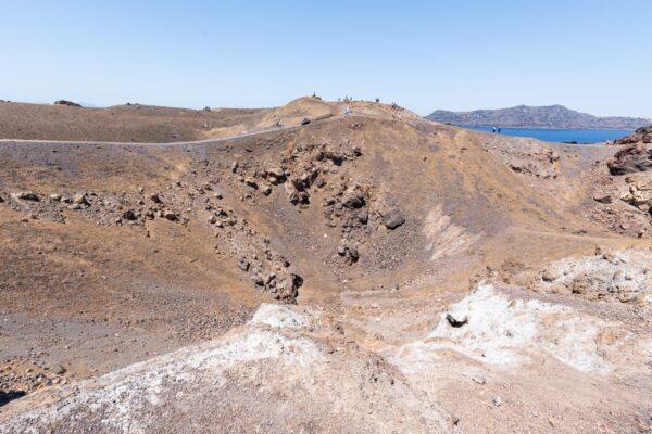 Cratère de Néa Kaméni