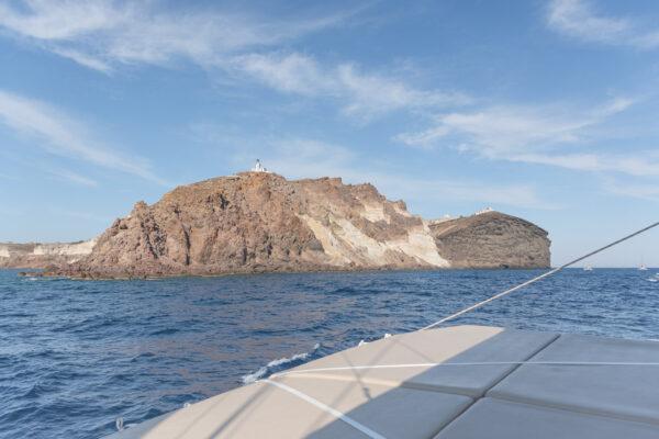Excursion en catamaran à Santorin