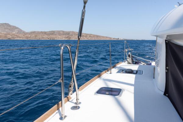 Sortie en bateau à Santorin