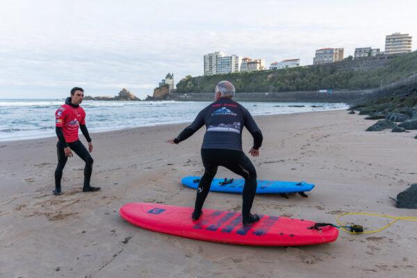 Explications techniques sur le surf