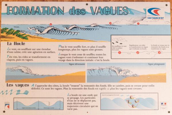Formation d'une vague