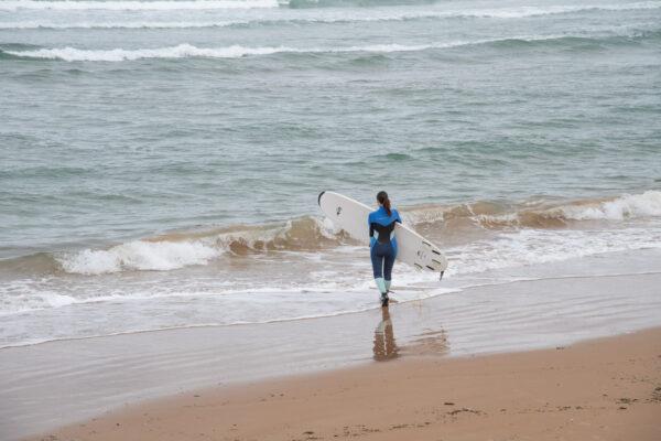 Prendre un cours de surf