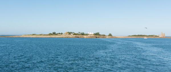 Île de Tatihou depuis Saint-Vaast-la-Hougue