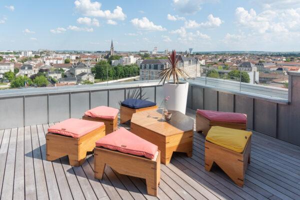 La Terrasse, rooftop bar à Cognac