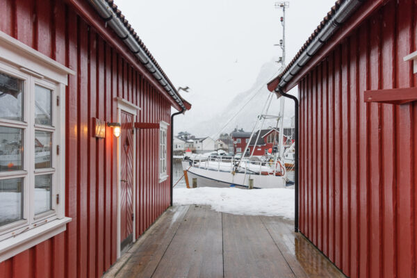 Svolvær dans l'archipel des Lofoten