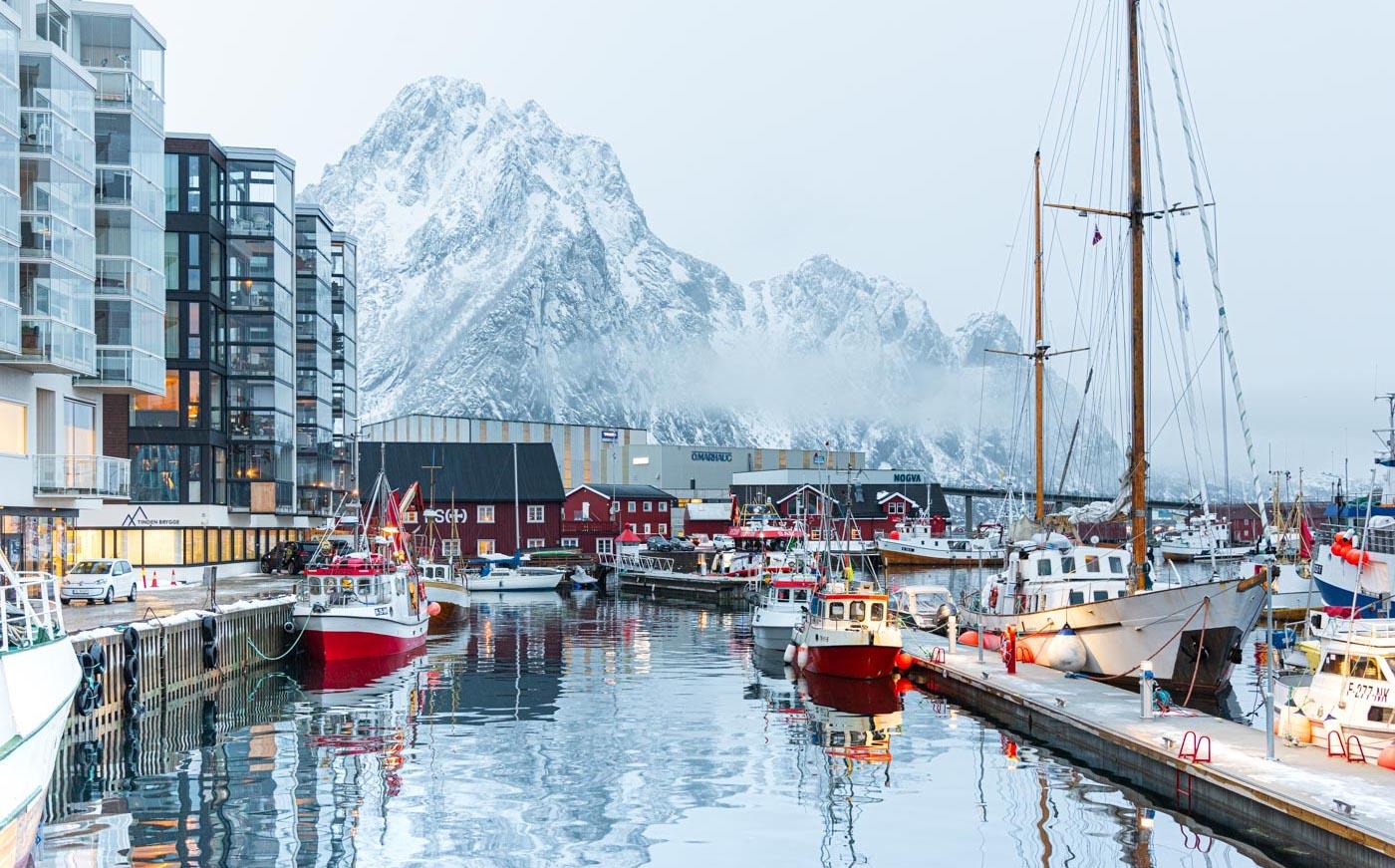 Svolvær en Norvège
