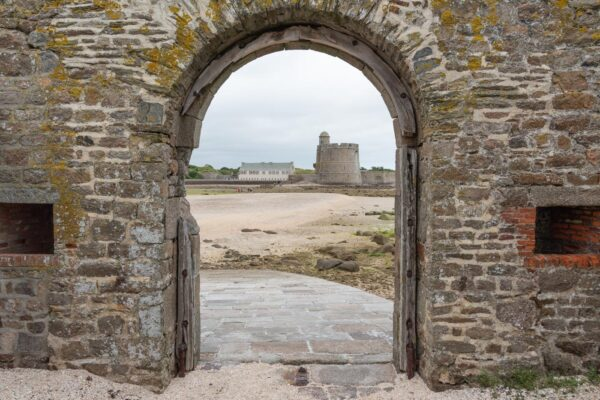 Tour Vauban depuis le fort de l'îlet