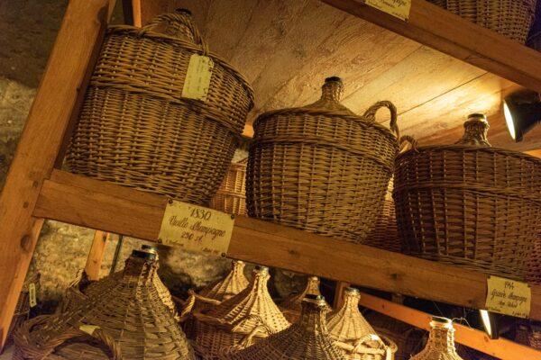VIsite d'un chais de Cognac